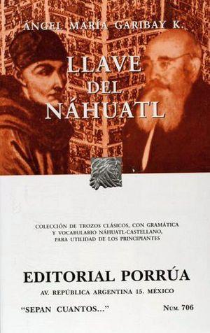 706 LLAVE DEL NAHUATL
