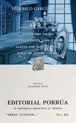 251 LIBRO DE POEMAS. POEMA DEL CANTANTE JONDO