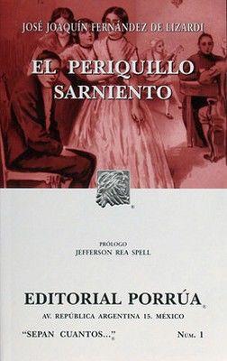 001 EL PERIQUILLO SARNIENTO