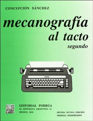 MECANOGRAFIA AL TACTO 2DO.