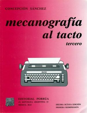 MECANOGRAFIA AL TACTO 3RO.