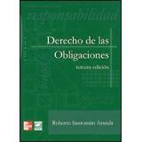 DERECHO DE LAS OBLIGACIONES 3ED.