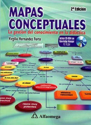MAPAS CONCEPTUALES  2ED. C/CD