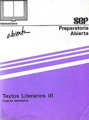 TEXTOS LITERARIOS III 4TO. SEM. LIBRO  XVII-XXIV