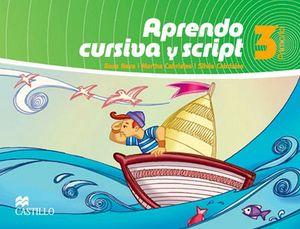 APRENDO CURSIVA Y SCRIPT 3RO. PRIM. (NVA. ED.)