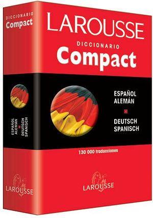 DICCIONARIO COMPACT ESPAÑOL ALEMAN Y V.V. (EMP)              1302