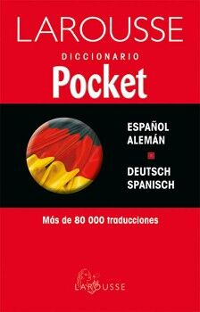 DICCIONARIO POCKET ESPAÑOL/ALEMÁN  DEUTSCH/SPANISCH