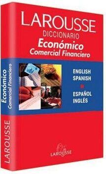 DICCIONARIO ECONOMICO, COMERCIAL, FINANCIERO  ESP/ING        1560