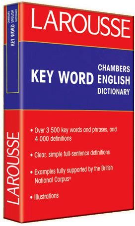 KEY-WORD ENGLISH DICTIONARY