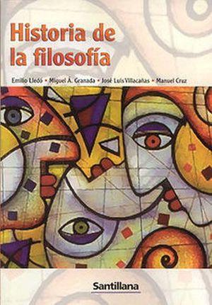 HISTORIA DE LA FILOSOFIA (BACH)