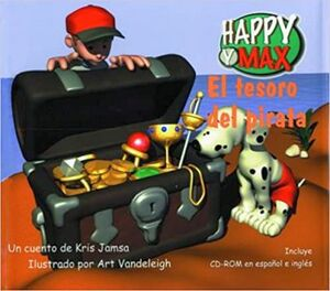 TESORO DEL PIRATA, EL -C/CD-   (HAPPY Y MAX)