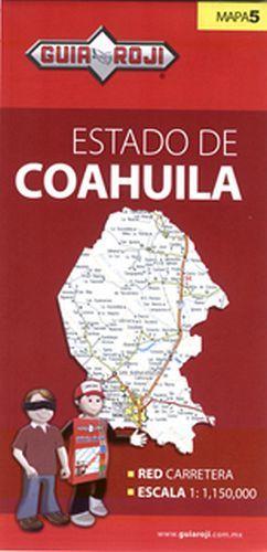 MAPA DEL ESTADO DE COAHUILA