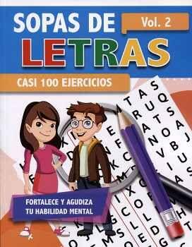 SOPAS DE LETRAS VOL.2 -CASI 100 EJERCICIOS-