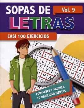 SOPAS DE LETRAS VOL.9 -CASI 100 EJERCICIOS-