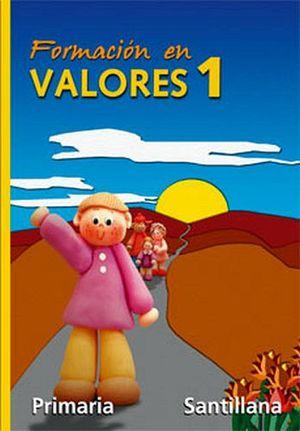 FORMACION EN VALORES 1RO. (PRIM.)