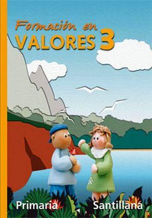 FORMACION EN VALORES 3RO. (PRIM.)