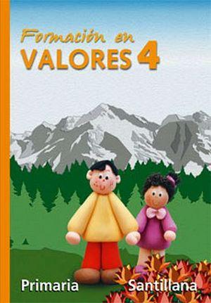 FORMACION EN VALORES 4TO. (PRIM.)