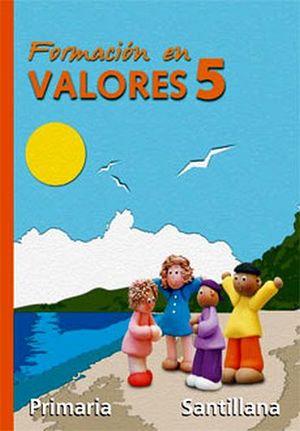 FORMACION EN VALORES 5TO. (PRIM.)