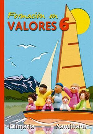 FORMACION EN VALORES 6TO. (PRIM.)