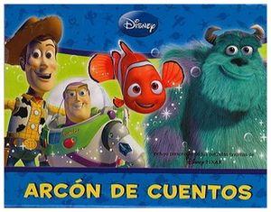 ARCON DE CUENTOS -DISNEY PIXAR-     (C/4 LIBROS)
