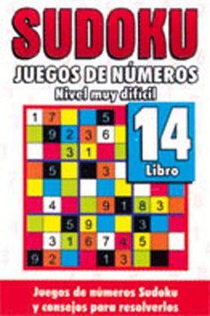 SUDOKU 14 (JUEGOS DE NUMEROS) -NIVEL MUY DIFICIL-