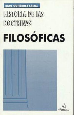 HISTORIA DE LAS DOCTRINAS FILOSOFICAS 38ED.1RA/2DA/3R/4R/5R/6R/7R