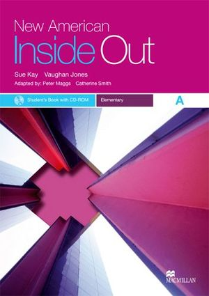 NEW AMERICAN INSIDE OUT ELEMENTARY A BOOK W/CD-ROM