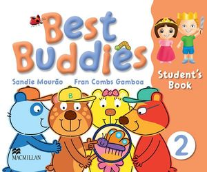 BEST BUDDIES 2 STUDENT'S BOOK + TAKE HOME CD