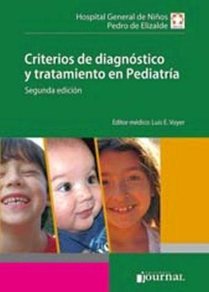 CRITERIOS DE DIAGNOSTICO Y TRATAMIENTO EN PEDIATRIA