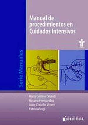 MANUAL DE PROCEDIMIENTOS EN CUIDADOS INTENSIVOS
