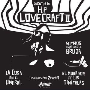 CUENTOS DE HP LOVECRAFT II ILUSTRADOS POR ZIPERART