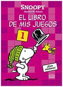 SNOPPY. EL LIBRO DE MIS JUEGOS -ROSA-                 27-007
