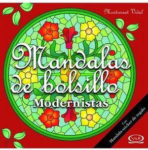 MANDALAS DE BOLSILLO C/STICKER -MODERNISTAS-