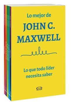 MEJOR DE JOHN C. MAXWELL (C/5 LIBROS) -LO QUE TODO LIDER DEBE DE