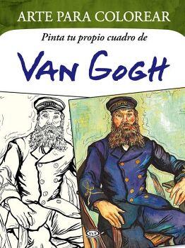 ARTE PARA COLOREAR -VAN GOGH-     (PINTA TU PROPIO CUADRO)