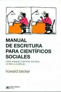 MANUAL DE ESCRITURA PARA CIENTIFICOS SOCIALES 3ED.