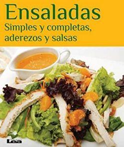 ENSALADAS -SIMPLES Y COMPLETAS, ADEREZOS Y SALSAS-