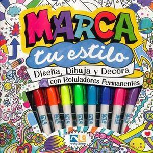 MARCA TU ESTILO (LIBRO C/8 MINIRROTULADORES/2 ESTATUILLAS)