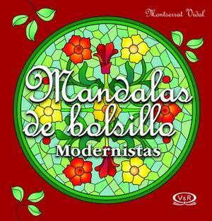 MANDALAS DE BOLSILLO -MODERNISTAS/ROJO- (6)