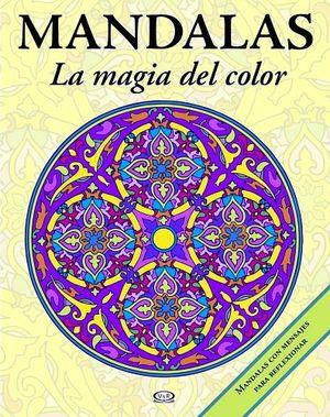 MANDALAS -LA MAGIA DEL COLOR-  3 (AMARILLO/VERDE-C/MENSAJE P/REF)
