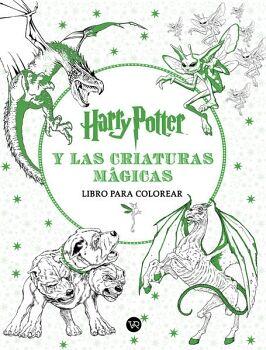 HARRY POTTER Y LAS CRIATURAS MAGICAS  -LIBRO PARA COLOREAR-
