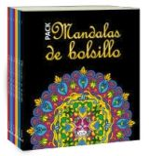 PACK MANDALAS DE BOLSILLO (C/6 LIBROS)