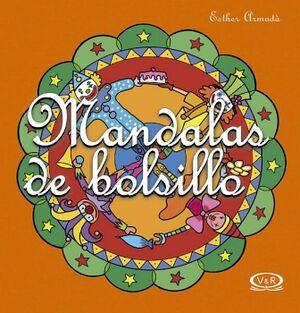 MANDALAS DE BOLSILLO -NARANJA- (11)