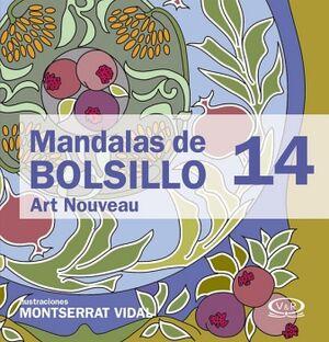 MANDALAS DE BOLSILLO 14 -ART NOUVEAU-