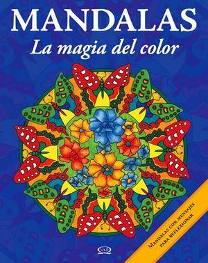 MANDALAS -LA MAGIA DEL COLOR-  9 (MORADO-C/MENSAJE P/REFLEXIONAR)