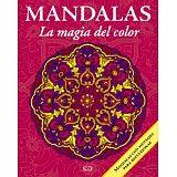 MANDALAS -LA MAGIA DEL COLOR- 11 (ROSA MEX/AMARILLO-C/MENSAJE P/R