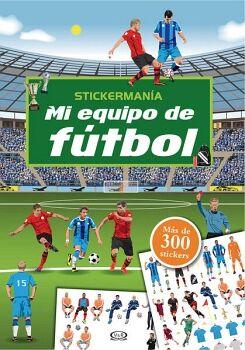 STICKERMANIA -MI EQUIPO DE FUTBOL- (MAS DE 300 STICKERS)