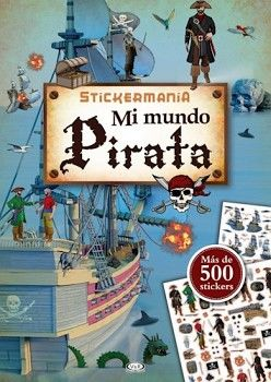 STICKERMANIA -MI MUNDO PIRATA- (MAS DE 500 STICKERS)