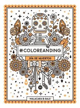 #COLOREANDING -DIA DE MUERTOS- (NARANJA)
