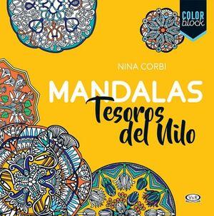 MANDALAS -TESOROS DEL NILO-               (COLOR BLOCK)